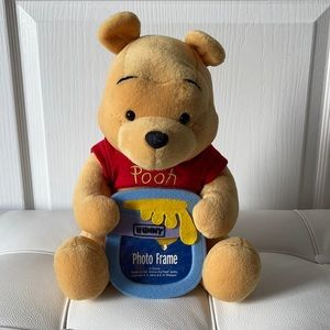 Winnie the Pooh Plush Doll and Picture Frame